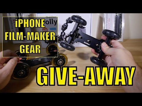 iPhone Film-Making Gear GIVEAWAY...