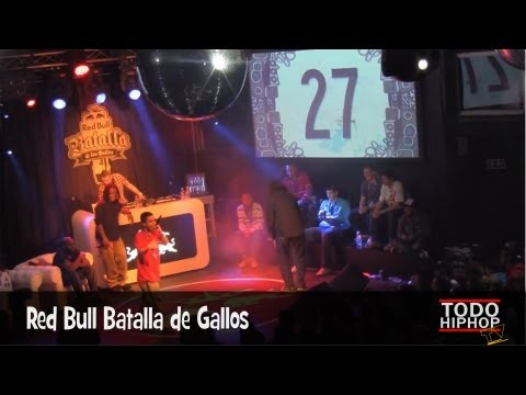 El Destro vs Kensuke (SEMIFINAL) - RED BULL Batalla de los Gallos 2013. MADRID. (HD)