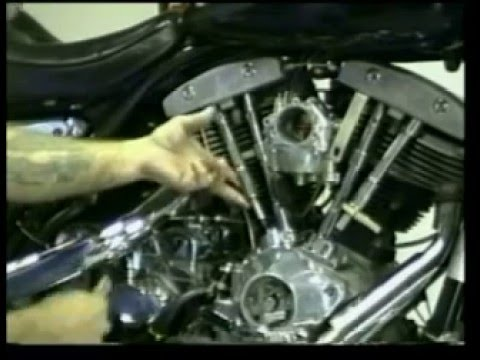 Harley ShovelHead pushrod adjustment