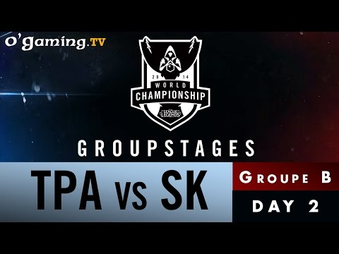 World Championship 2014 - Groupstages - Groupe B - TPA vs SK