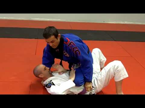 Jiu Jitsu Techniques - Attacks From Knee On Belly Image 1