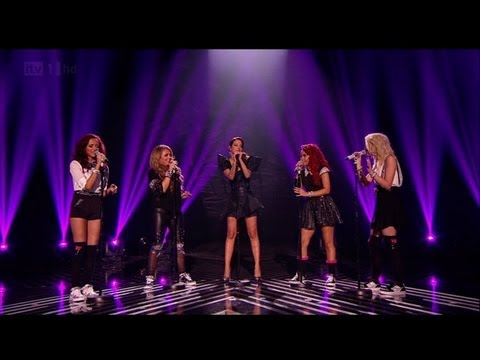 Little Mix get a FIFTH member - The X Factor 2011 Live Final - itv.com/xfactor