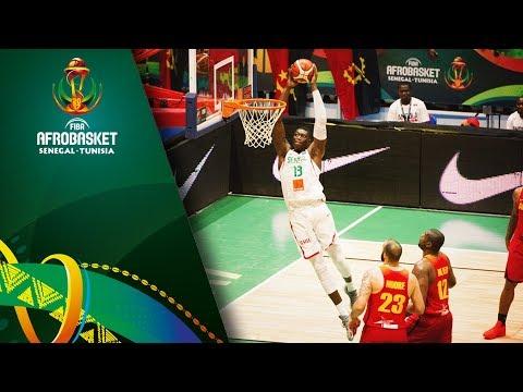 Senegal v Angola - Full Game - Quarter Final - FIBA AfroBasket 2017