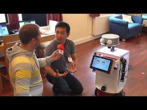 Robots To Help Elderly & Disabled Live Independently For Longer