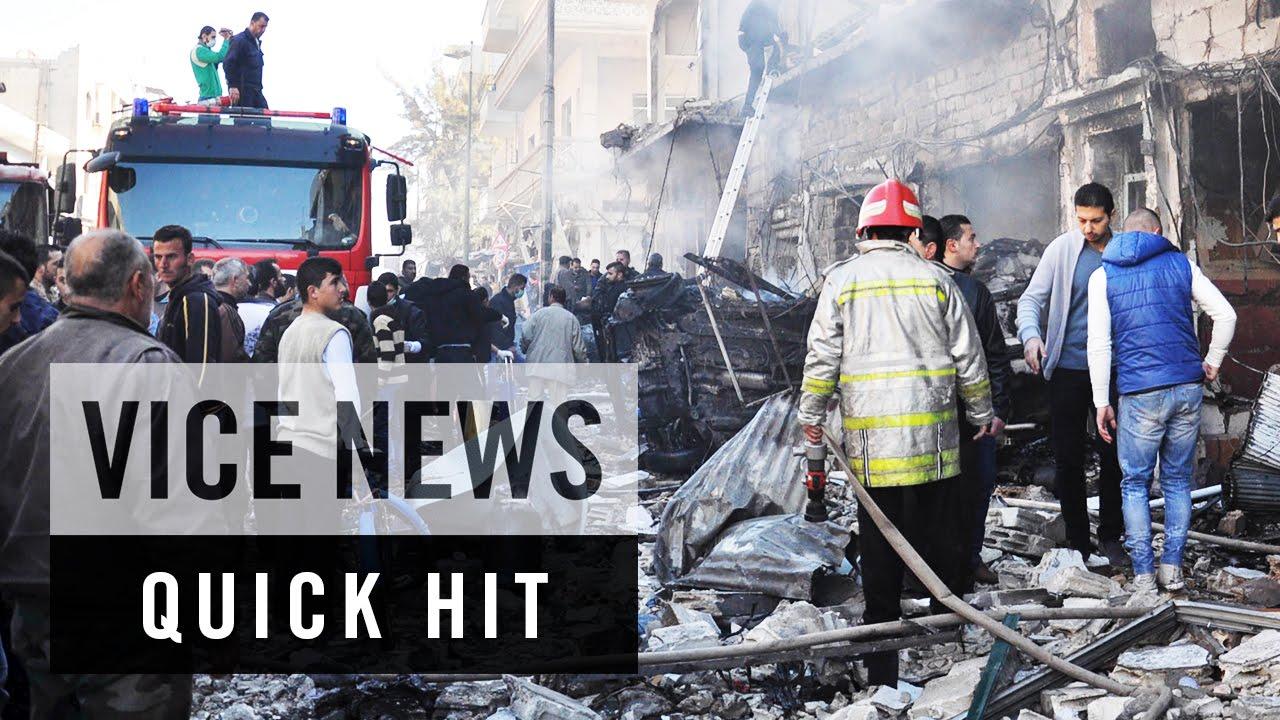 Bombs Kill Dozens in Syrian City Homs: VICE News Quick Hit
