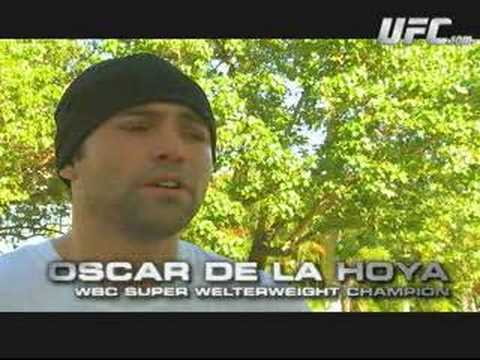 Oscar de la Hoya and Diego Sanchez Video