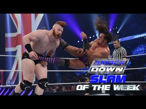 Sheamus gets a lesson in gravity: WWE SmackDown Slam of the Week 4/16