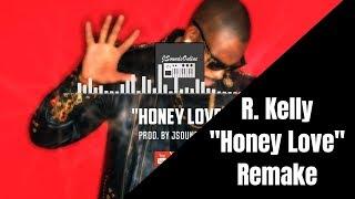 90's | Smooth | R. Kelly type Beat R&B Beat (Honey Love) Instrumental W/TalkBox