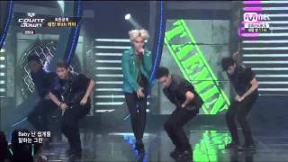 140821 Taemin Pretty Boy Feat. EXO Kai @ Mnet Countdown [720p]