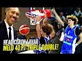 LaMelo Ball 40 POINT TRIPLE DOUBLE In LaVars HEAD COACHING Debut! Melo Dunks It & Bows To Crowd!