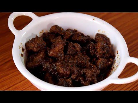Gosht ka aachar (mutton pickle)