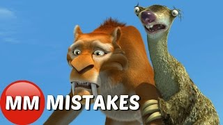 Ice Age MOVIE MISTAKES You Didn't Notice | Ice Age GOOFS
