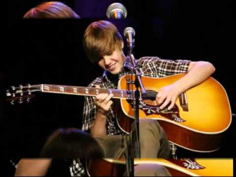Justin Bieber- Favorite Girl- My World Acoustic (live) video