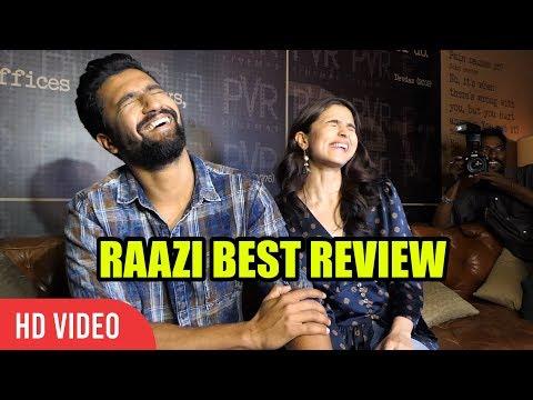 RAAZI Full Movie Review By Alia Bhatt And Vicky Kaushal | Raazi thumbnail