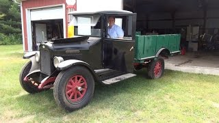 1929 International Truck - First Startup in 2 Years