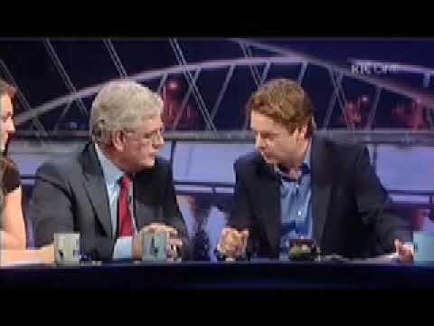 Eamon Gilmore TD on RTE's The Panel