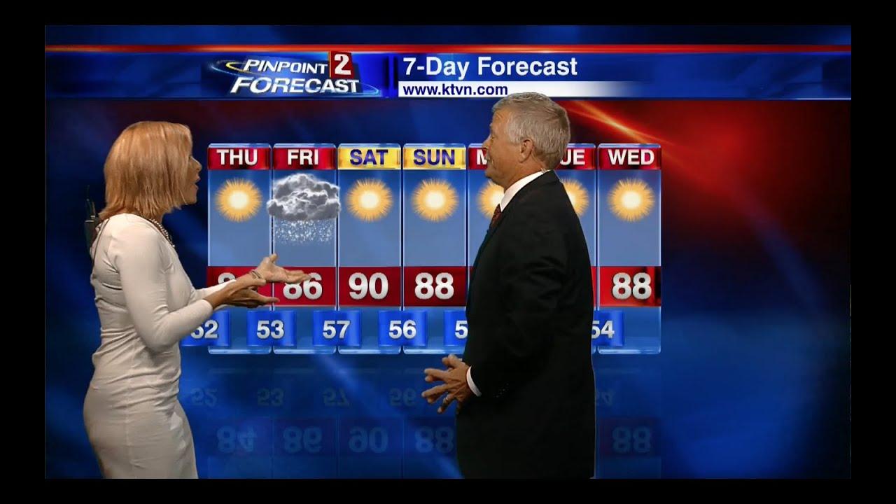 Tomorrow's weather