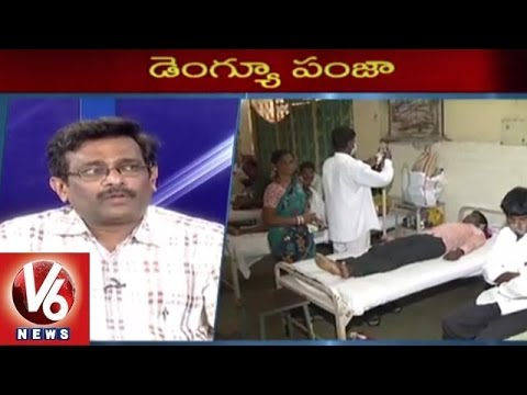 Special Discussion on Dengue Fever Symptoms and Treatment | Monsoon Viral Diseases | V6 News