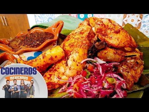 Receta: Barbacoa de pollo | Cocineros Mexicanos