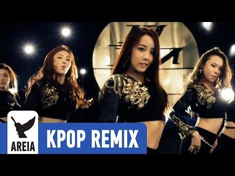 Purfles (퍼펄즈) - 123 (Areia Kpop Remix #159 ) 60fps Sexy Korean Girls Electro Main Room House