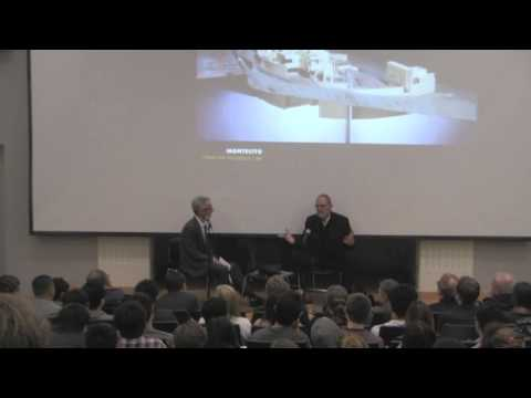 Thom Mayne '69, FAIA with Joe Day, Hitoshi Abe and Qingyun Ma