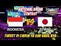 KOCAK !!! Fokus War Eh Turret Jebol Indonesia vs Jepang National Arena Contest 29092017