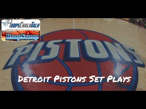 Detroit Pistons Set Plays