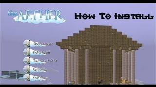 How to install the Aether for minecraft 1.2.5 + DOWNGRADE from 1.3.1 to 1.2.5 - 3rd/August/2012