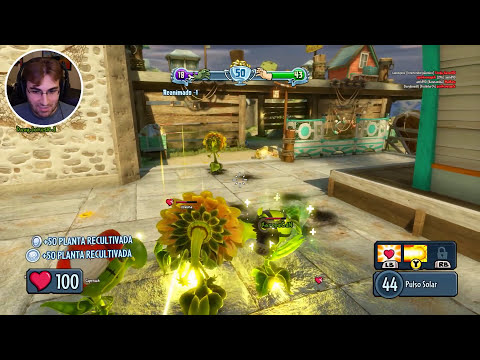 PLANTS VS ZOMBIES GARDEN WARFARE: No PC com Davy Jones e Leon!