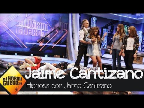 Jeff Toussaint hipnotiza a Jaime Cantizano - El Hormiguero 3.0