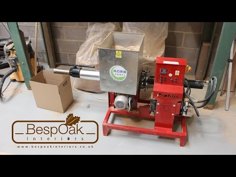 Briquetting Machine Sawdust Ph Briquette Press Review