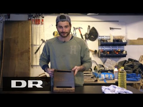 Sådan laver du et skærebræt med Kasper | Made in Denmark | DR1