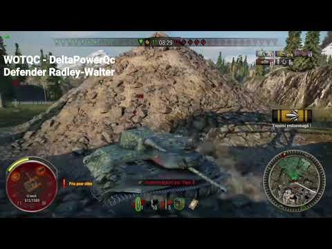 WOTQC - DeltaPowerQc - World of Tanks Xbox - Defender's Radley-Walter