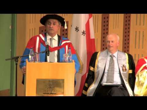 RCSI June Conferring 2013 - Lord Ara Darzi receives Honorary Doctorate