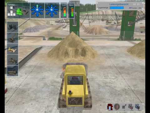 Bagger Simulator 2008 Gameplay part 1