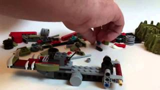 LEGO Live Construction : Legends Of Chima's Crawley's Claw Ripper [Français]