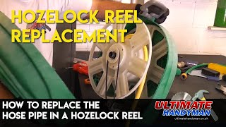 How to replace the hose pipe in a Hozelock reel