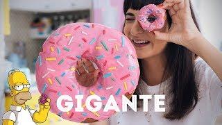 DONUTS GIGANTE DOS SIMPSONS | DANI NOCE RECEITA