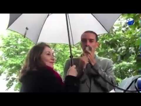 image vidéo عار : محامي تونسي يقود مظاهرة صهيونية