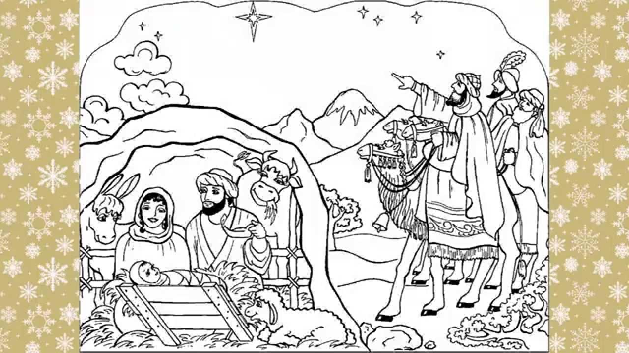Imagenes de navidad para colorear 2014 youtube - Dibujos de pintar de navidad ...