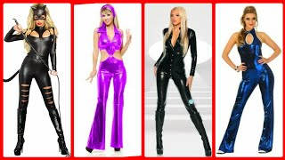 Latest  leather Jumpsuit Designs and costume Jumpsuits For Women ideas