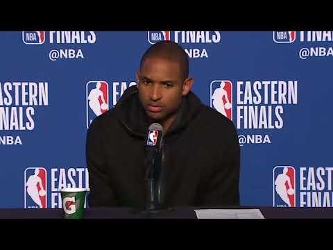 Al Horford Postgame Interview / Celtics vs Cavaliers Game 4