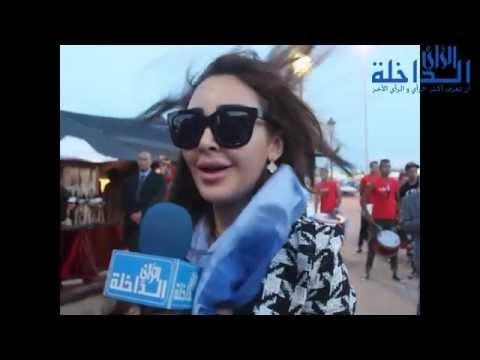 استقبال الفنانين والنجوم العرب والأجانب المشاركة في المهرجان الدولي للسنما للداخلة