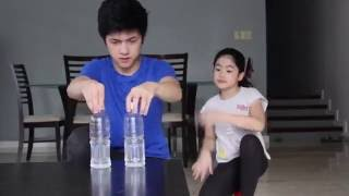 Flip Bottle Sister Reaction | Ranz And Niana