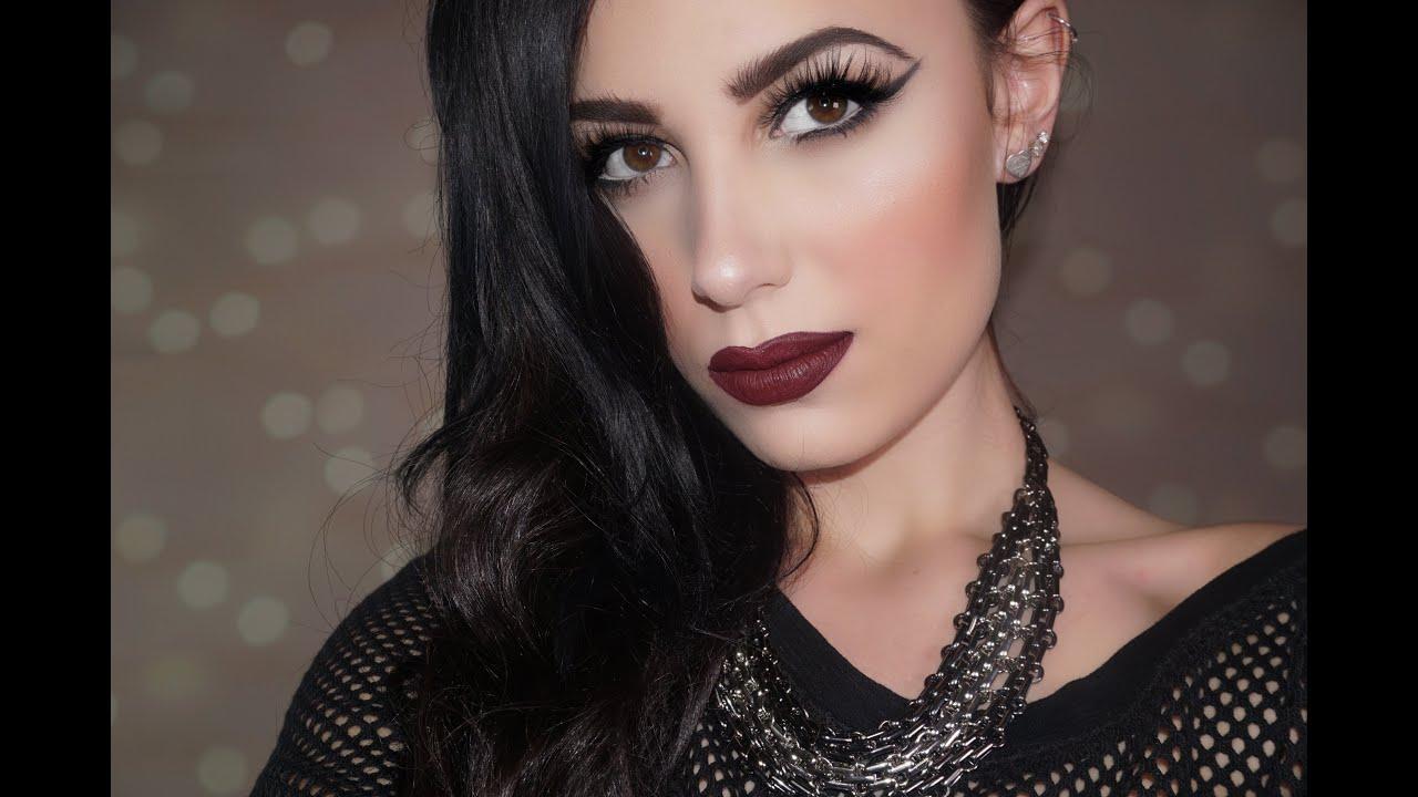 ♥ Dark & Vampy Makeup Tutorial | Victoria Lyn Beauty
