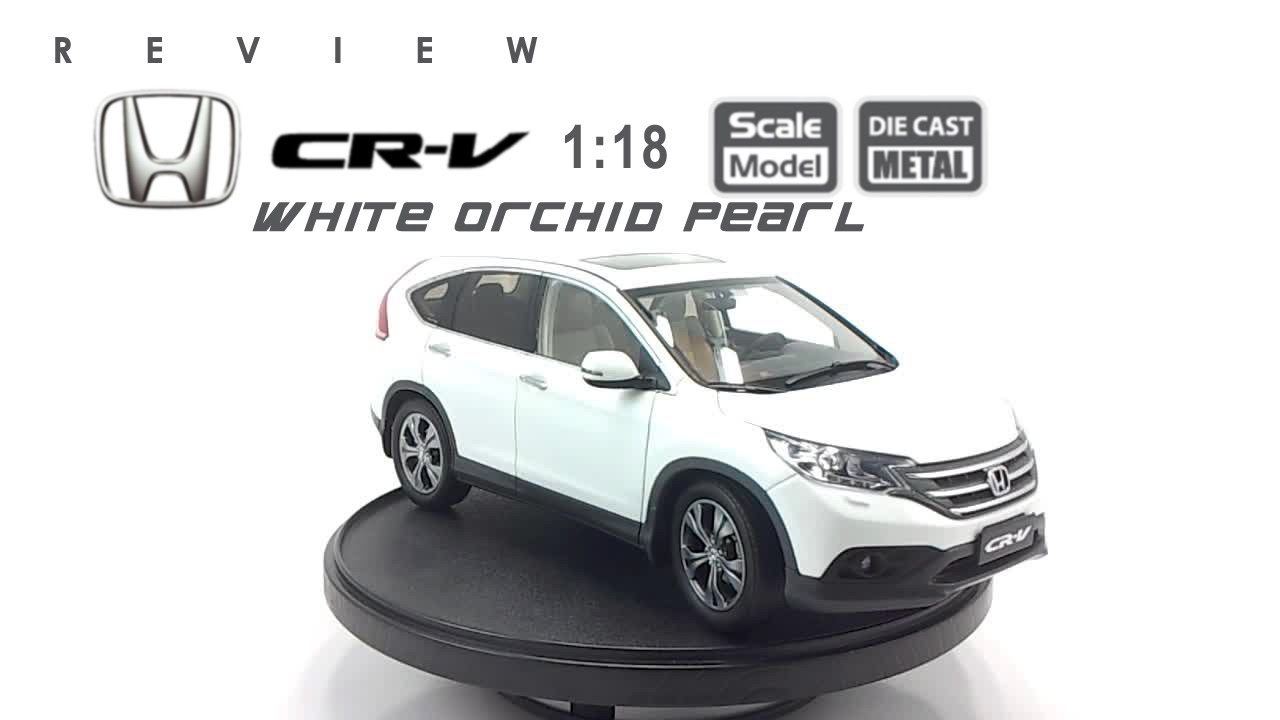 honda cr  white orchid pearl scale  youtube