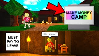 I Went To RICH DAYCAMP.. What You Learn Will Shock You! (Roblox)