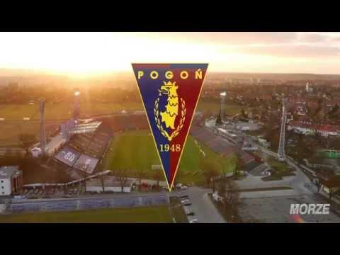 POGOŃ SZCZECIN - stadion z lotu ptaka 4K