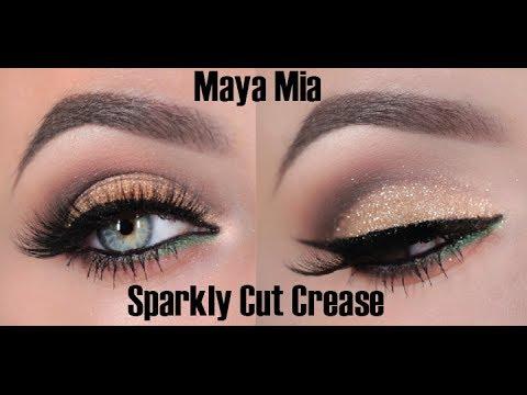 Glitter  Cut Crease Tutorial