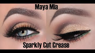 Glitter  Cut Crease Tutorial